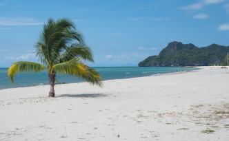 Strand Tejang Rhu auf Langkawi